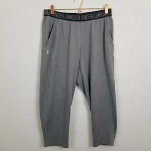 Under Armour Gray Cropped Athletic Lounge Pants